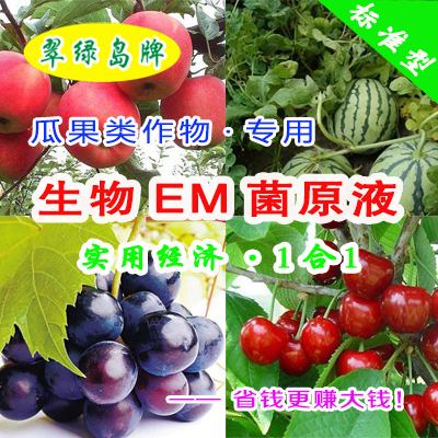翠绿岛牌李子种植-生物EM菌原液★能提高产量和品质!