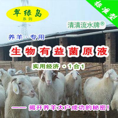 翠绿岛『养羊-生物有益菌原液』★提高羊的产量与品质!