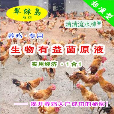 翠绿岛『养鸡专用-生物有益菌原液』★提高鸡的产量与品质!