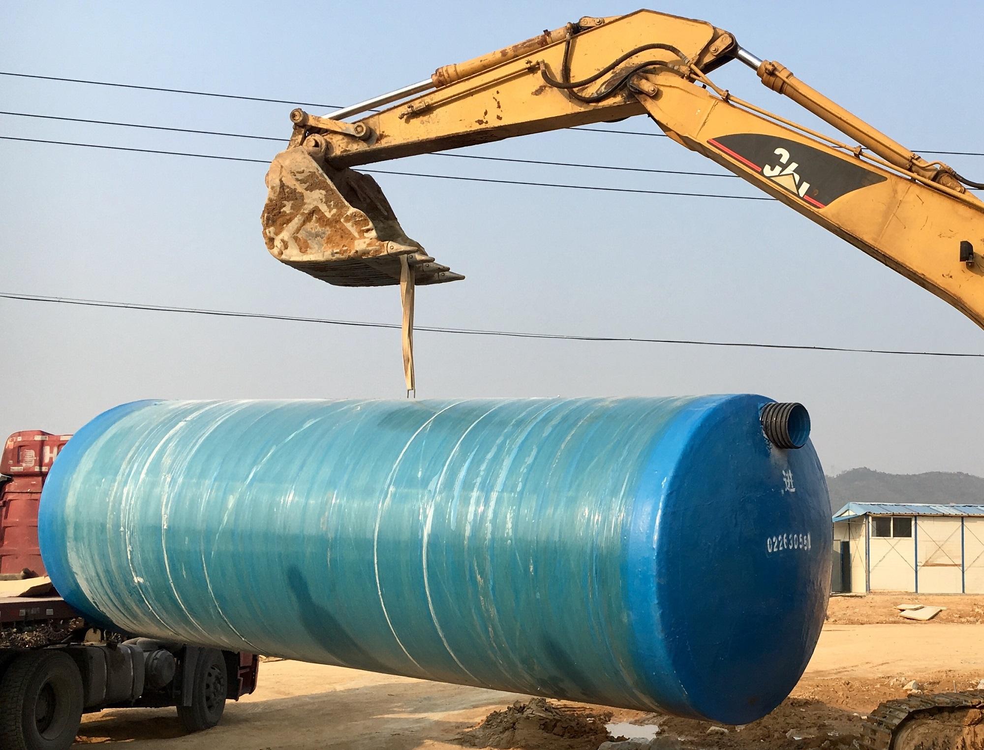 惠州玻璃钢化粪池坑基开挖要求
