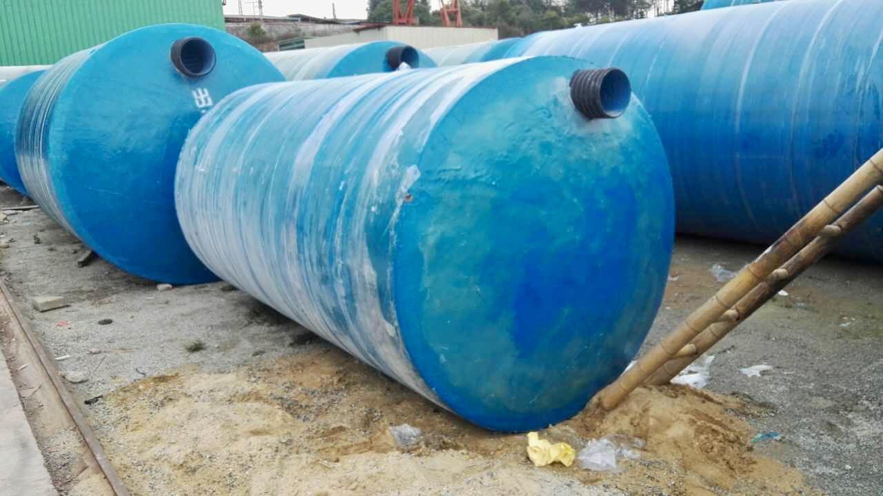 关于海口玻璃钢化粪池安装回填方法(图1)