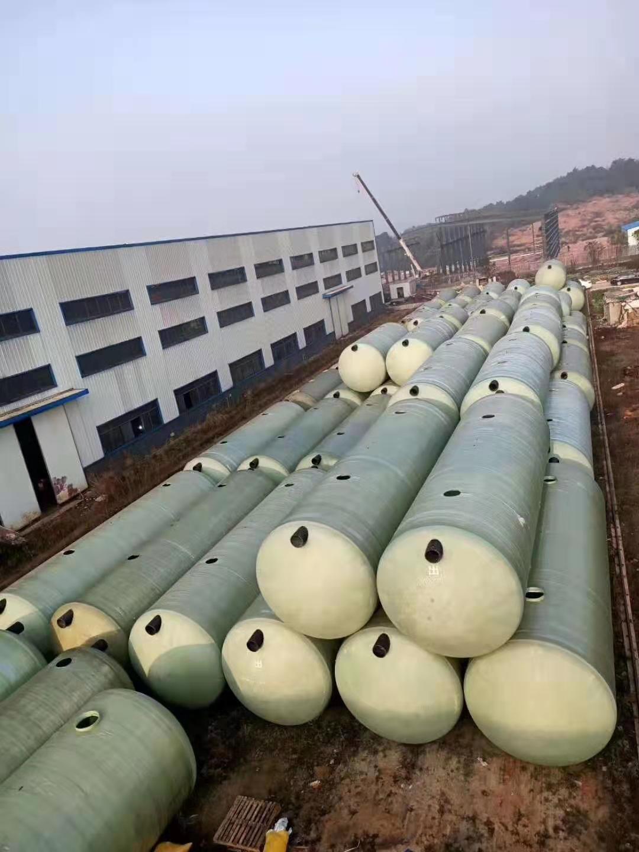 珠海玻璃钢化粪池生产