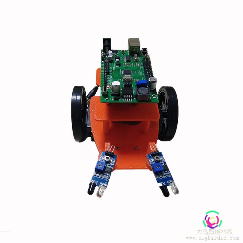 3D打印 电子课程套件 避障小车 智能机器人