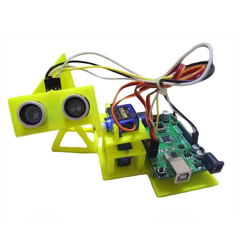 雷达报警器 3D打印结合电路编程设计的创新教程