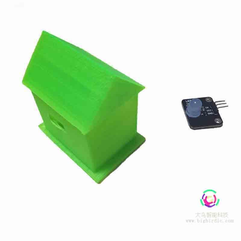发光小屋 3D打印结合编程设计创新课程