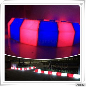 Roadside LED lights