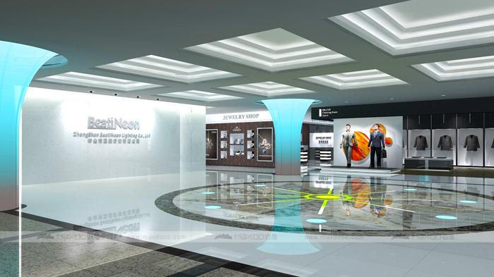 中山展厅设计效果图