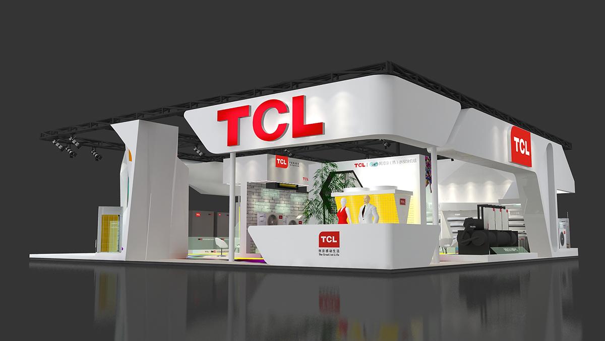 TCL北京制冷展展台设计