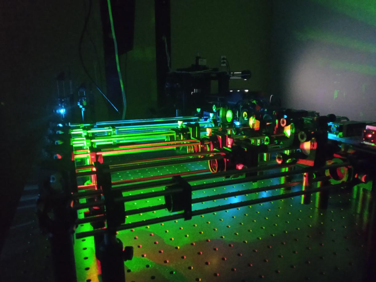 致微·单分子显微镜 全开放式光学显微平台荧光倒置显微镜,全内反射,超分辨,纳米位移台,共聚焦显微镜