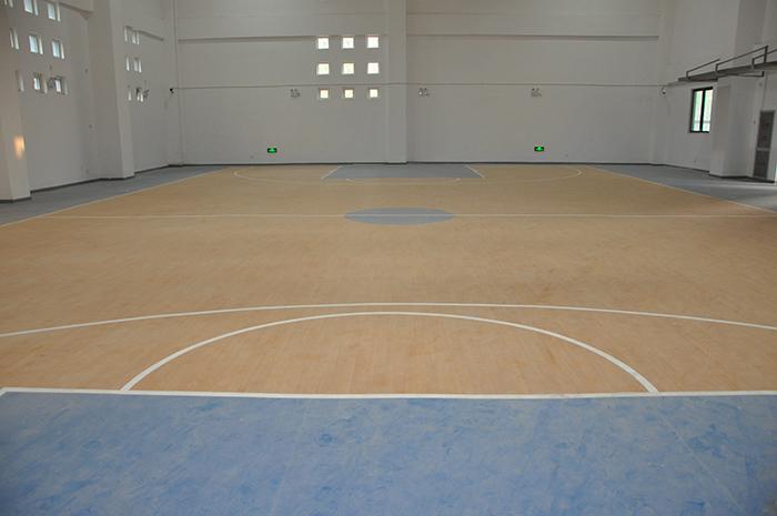 中原区澜景小学PVC篮球场