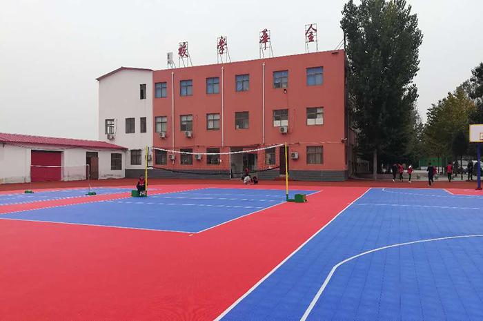 开封金华学校体育场