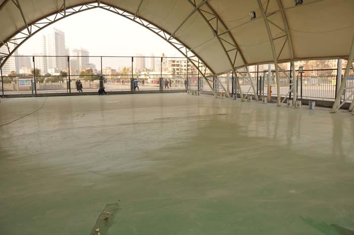郑州火车站西广场篮球场改造项目