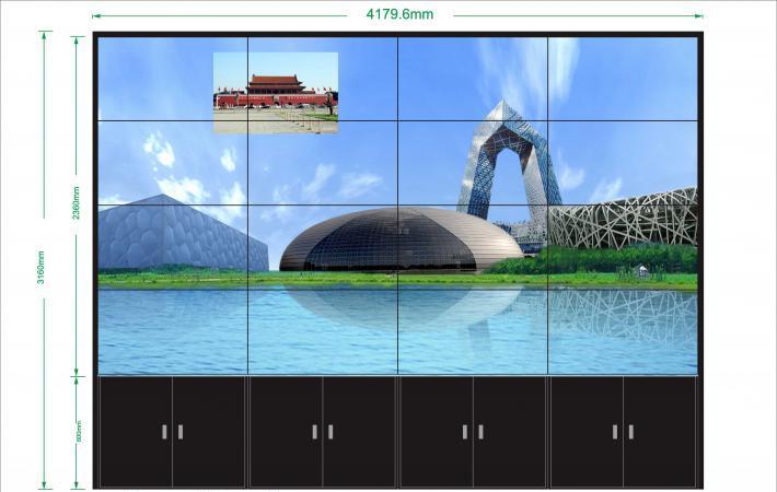郑州拼接屏厂家谈液晶拼接屏由哪些部分组成|新闻-河南凯美视电子科技有限公司