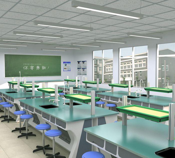 生物一体化实验室(效果图)