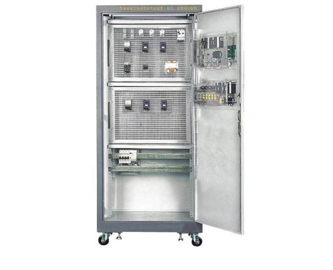 HKJW-2型维修电工技能实训考核装置(柜式、双面网孔板型)