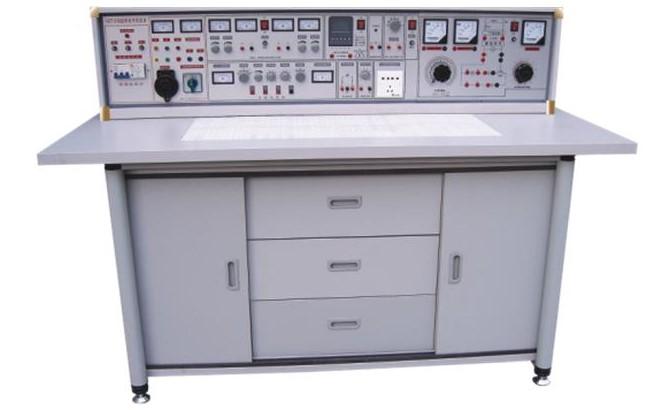 HKXK-745H 通用电工电子电拖(带直流电机)实验与电工电子电拖技能实训考核实验室成套设备