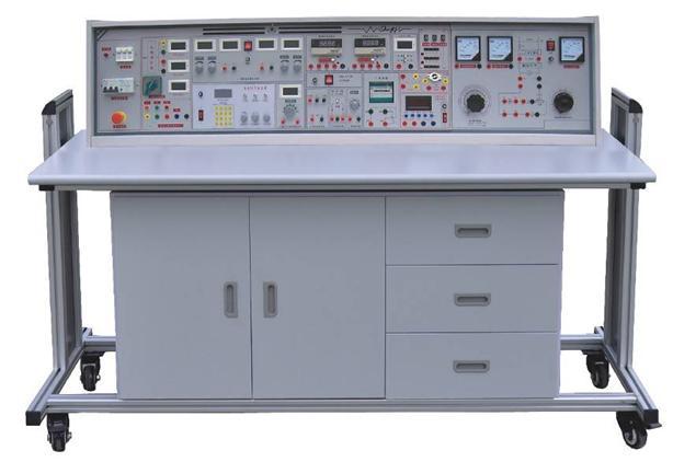 HKMD-209型高级电工模电数电电力拖动带直流电机实验室成套设备