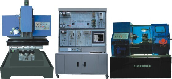 HKSK-CX2型数控车床铣床综合智能实训考核装置(二合一)