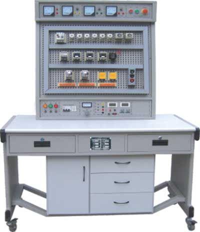 HKJD-81B機床電氣控制技術及工藝實訓考核裝置(網孔板