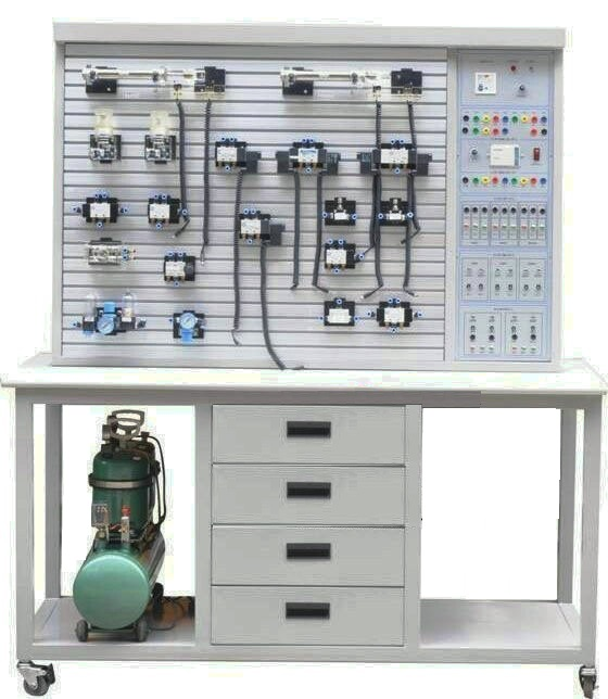 HKYA-282A气动PLC控制实验装置(T型铝槽式.钢桌)
