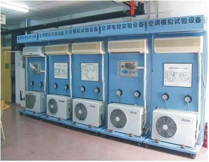 HKZL-1家用分体空调技能实训设备装置