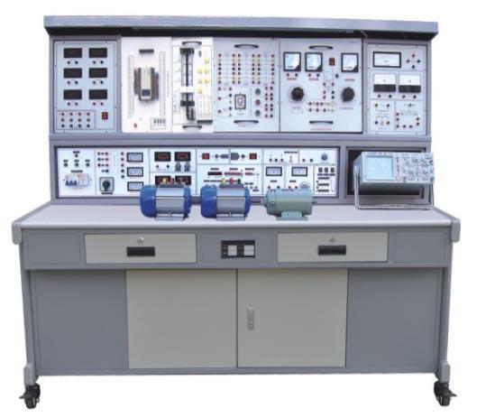 1.3.3输入阻抗(AC耦合):电阻分量约500K,并联电容约100P。 1.4单次脉冲:每次可输出一对正负脉冲。 1.5音频功率放大器:输入音频 电压不低于10mV,输出功率不小于1W,音量可调,内有喇叭,用于放大电路扩音,也可作信号寻迹。 1.6七段译码器:3组七段译码器及对应译码显示数码管。 1.