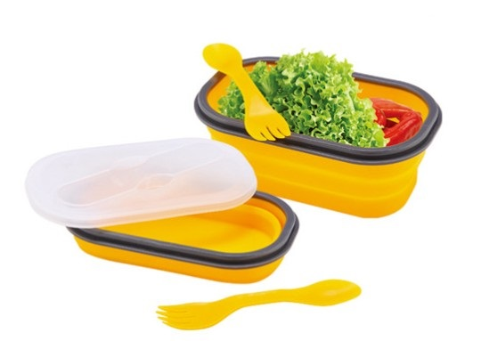 Silicone Lunch Box 1 Cav