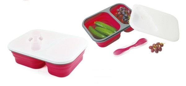Silicone Lunch Box 2 Cav