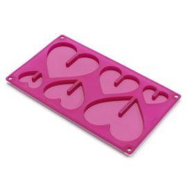 3D Hearts Mould