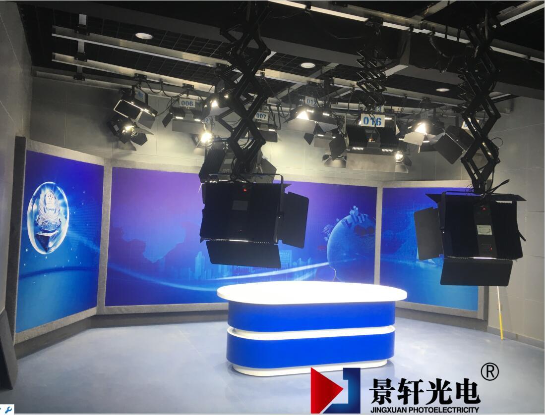 滁州市公安局新闻中心演播室2..