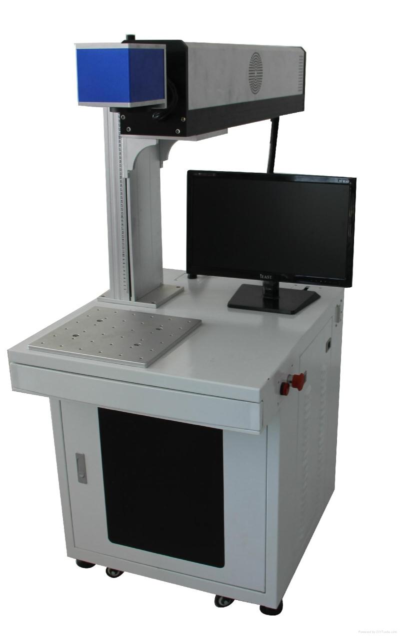 10W金属射频管co2激光打标机 塑料木制品皮革非金属激光打标刻画图文字
