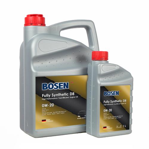 D8系列 全合成机油 0W-20