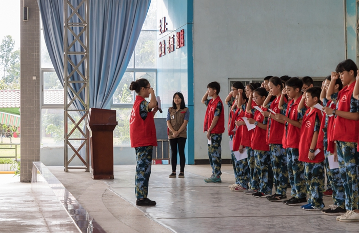 东莞中学南城学校学生来基地开展综合实践活动