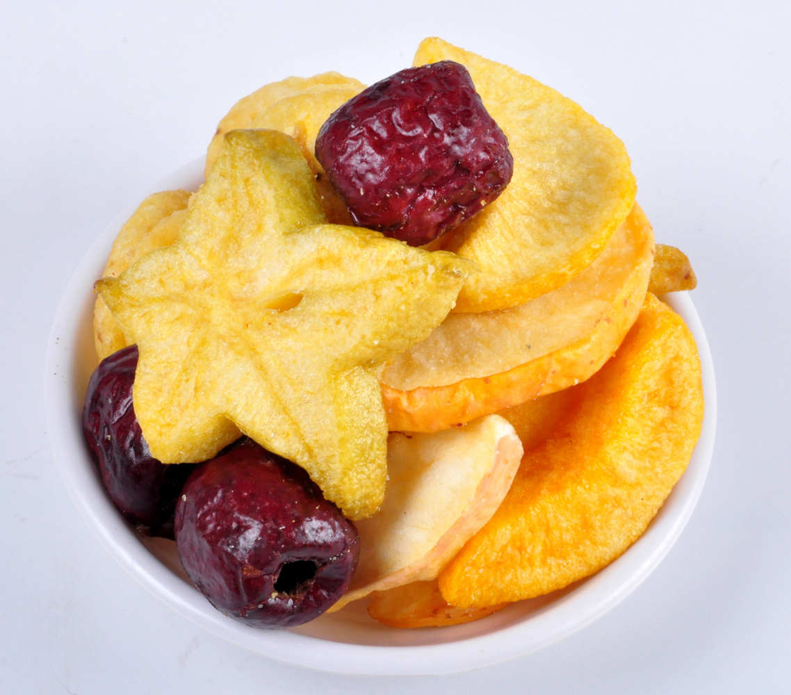 糖小山 什锦水果脆