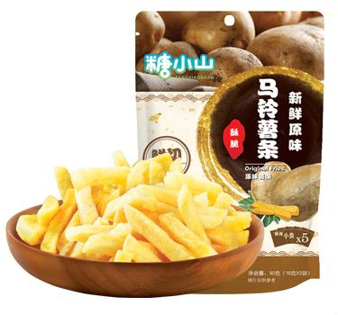 糖小山原味薯条50克/90克