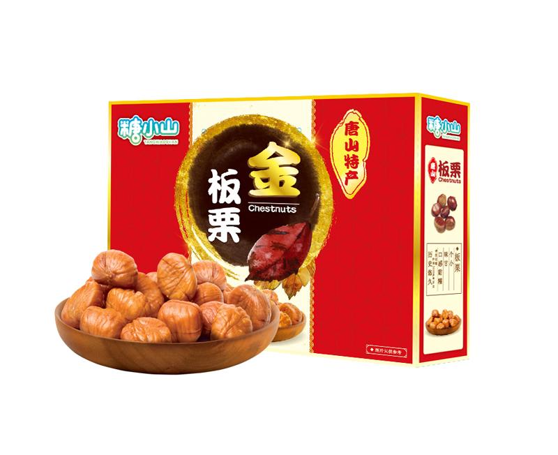 糖小山甘栗仁礼盒