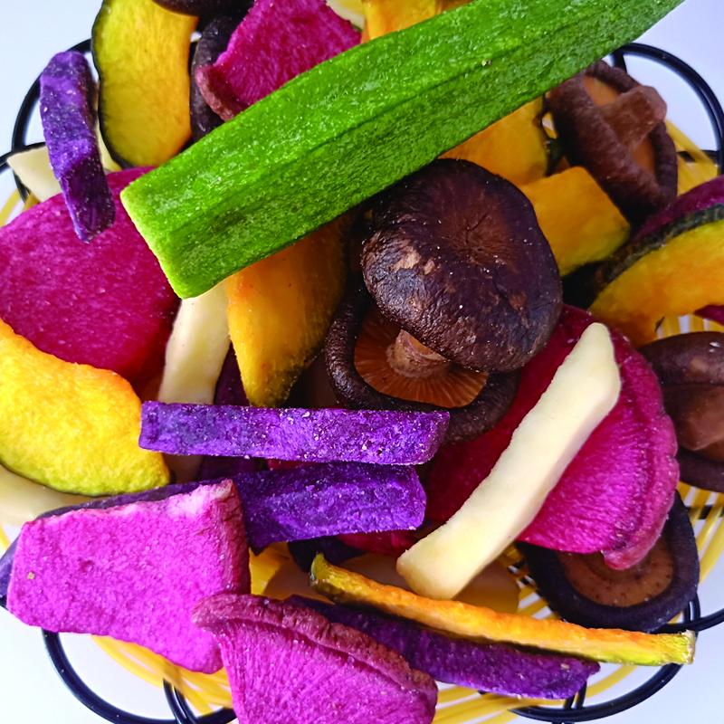 糖小山多彩蔬菜脆