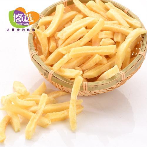 悠选50g鲜切马铃薯条 蜂蜜榴莲味