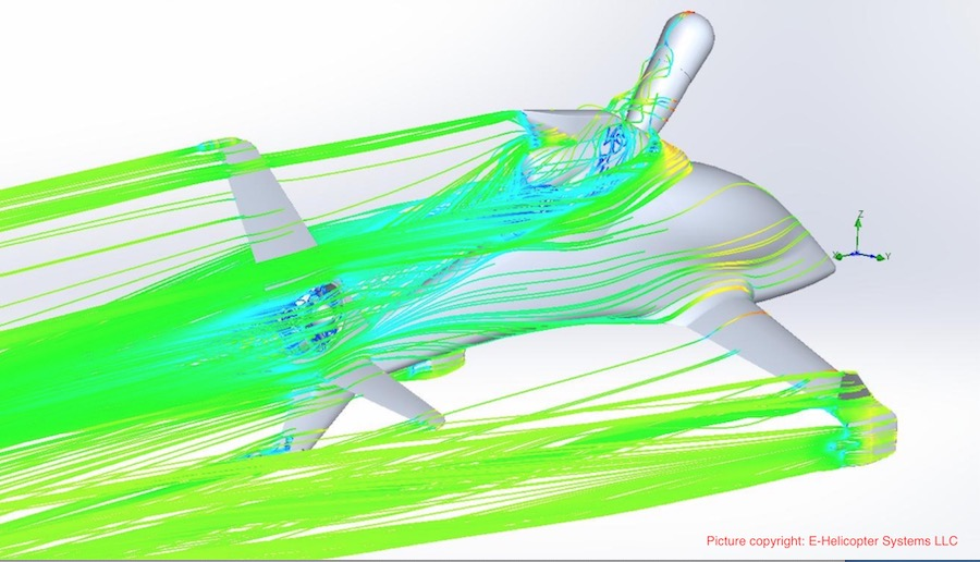 KATRAN无人机倾转旋翼推进系统