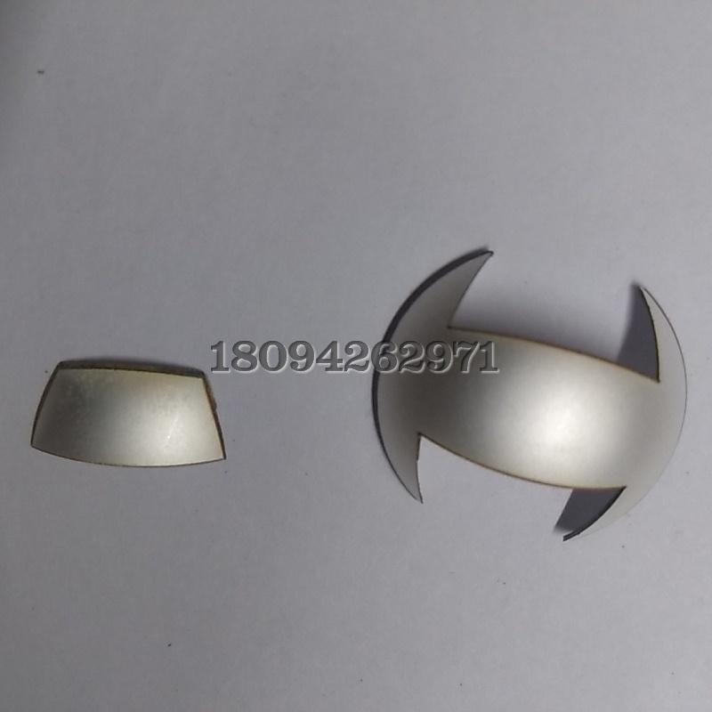 异形压电陶瓷切割加工 薄陶瓷切割代工制作
