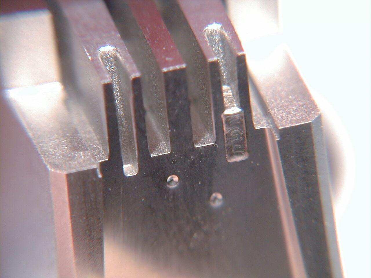 模具缺陷激光焊接修补加工