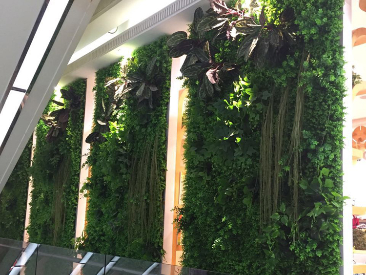 仿真植物墙案例