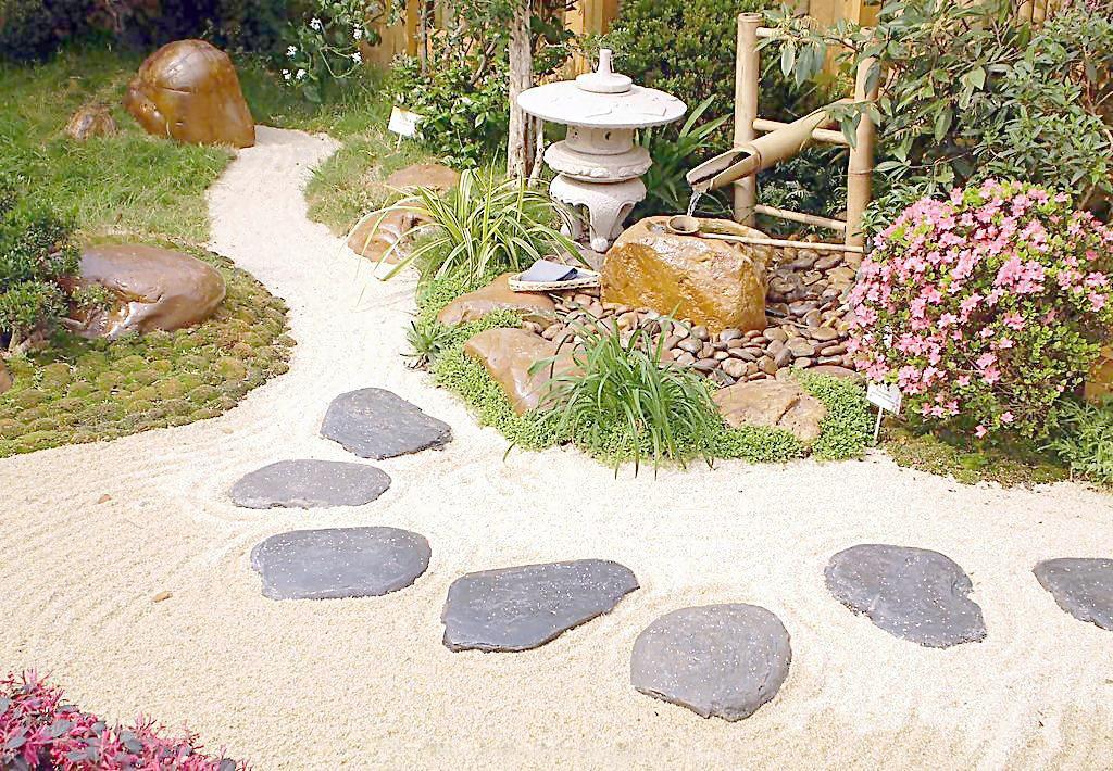 花园设计实景拍摄