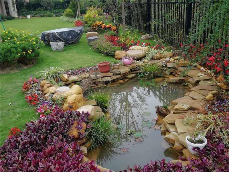 花园实物案例展示