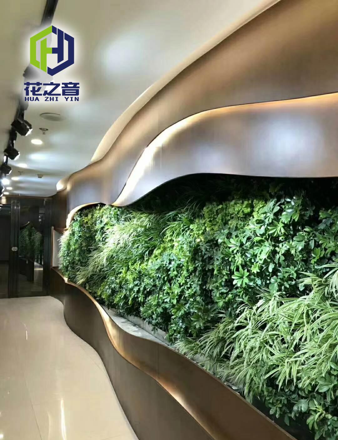豪生大酒店贵宾入口垂直绿化