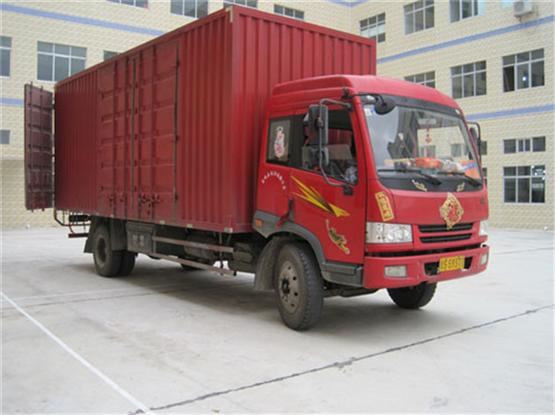 """""""惠州博罗货运公司旺邦鑫旺物流公司提供9.6米厢式货车运输""""/"""