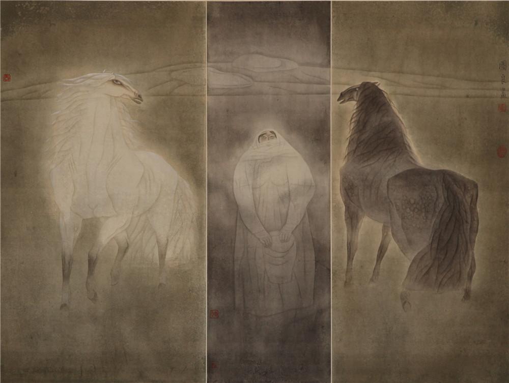 36《女人和马》