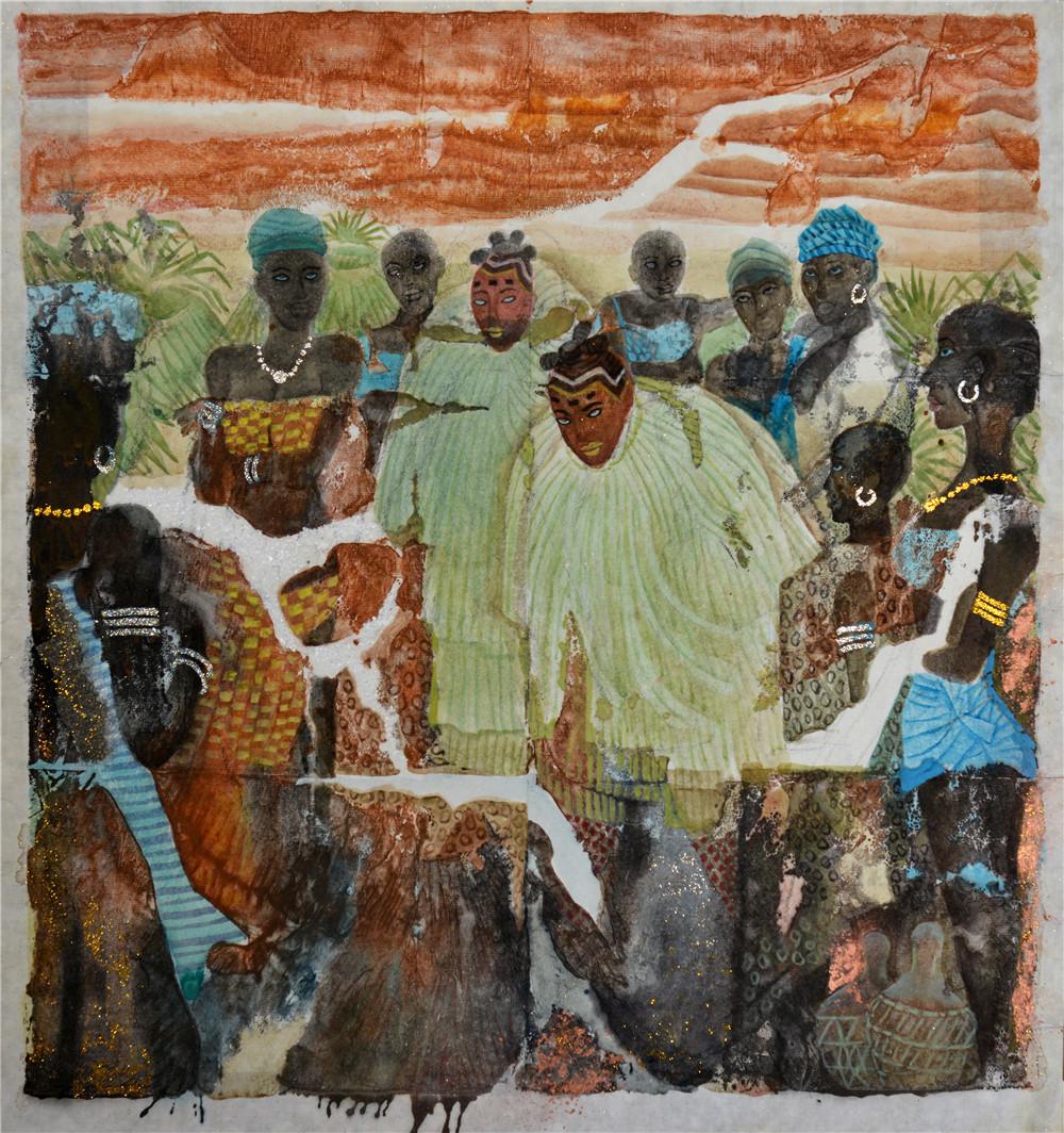 50《西非印象之6》