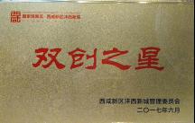 """西咸新区""""双创之星"""""""