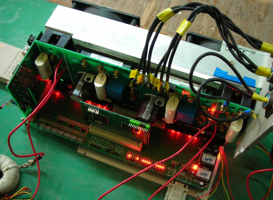 电机驱动(CAN总线实物)